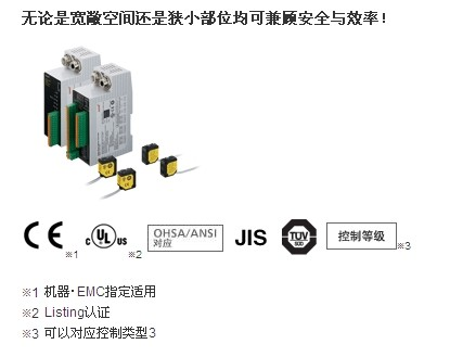 小型安全光电传感器 [type4]
